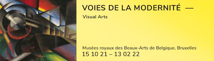 Voies de la modernité, visual arts, musées royaux des Beaux-Arts de Belgique